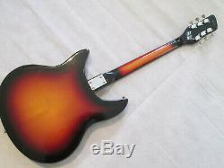 Shaftesbury 3261 semi acoustic guitar very early 70's made in Italy