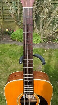 Sigma Martin DR-28H 6 String Dreadnought Acoustic Guitar Made in Taiwan FREE P&P