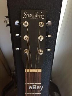Simon & Patrick Luthier S+P 6 Spruce Guitar with Soft case. Made in Canada
