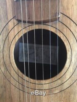 Stunning Hand Made Elbozzini Italian Acoustic Guitar 1950-60s Beatles Period