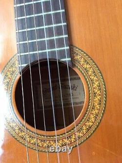 Suzuki Classical Guitar In Hard Case Made In Japan