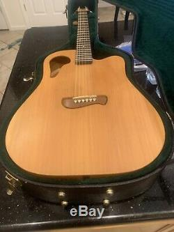 Tacoma Roadking RM6C Acoustic Electric Guitar MINT Made in USA With Martin HC