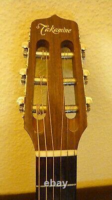 Takamine EN-30C Gitarre mit Koffer und Git. Gurt. Equaliser Vintage Made in Japan