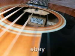 Takamine F-307S Solid Top Acoustic Guitar Made in Japan Rare & Simply Stunning