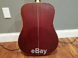 Takamine N-10 Natural Finish Acoustic Guitar Made in Japan Hard Case