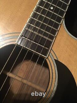 Takamine Pro-series 1984 Rare Natural acoustic -electric guitar made in Japan
