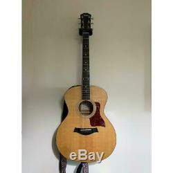 Taylor 214 acoustic guitar, early model made in USA with original case
