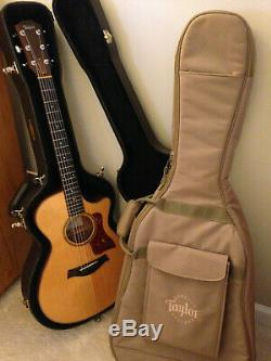 Taylor American-made Acoustic Guitar 512C RH non-electric NAMM show