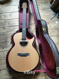 Terry Pack SJRS Limited Edition Acoustic Guitar RRP £2099 Made in United Kingdom
