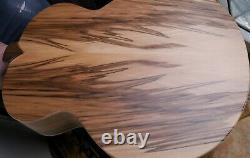(Tree of life) Country Acoustic L5 Guitar (made in UK) Inc case