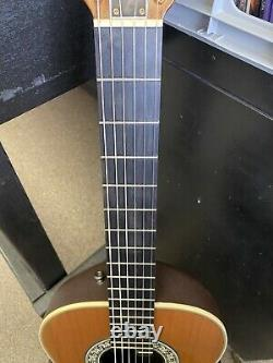 USA Made Ovation 1713 CLASSIC Acoustic Guitar WithHSC Near Mint. Classical Nylon