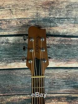 Used Tacoma RMM9 USA made Road King Mahogany Acoustic Guitar with Tacoma Case