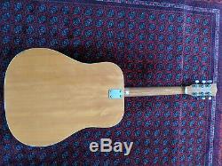 VINTAGE Acoustic Guitar E-ROS Mod. 606 Dakota. Made in Recanati ITALY