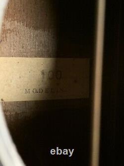 VTG Acoustic Guitar Made in USA MODEL 100 Blues Slide 1940s 1950s Stella Rare