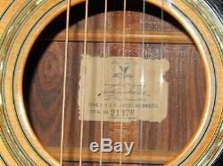Very Rare Made In 1979 Kazuo Yairi Yw600g Truly Wonderful Acoustic Guitar