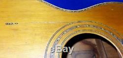 Vintage 1920's Parlor Guitar unlabeled A. Galiano likely Raphael Ciani made