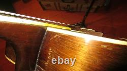 Vintage 1959 Kay K-22 Jumbo Acoustic Guitar Natural Made In The USA With Gig Bag