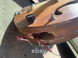 Vintage 1960s Electric Guitar EKO Model 100 Hollow body made in Italy working