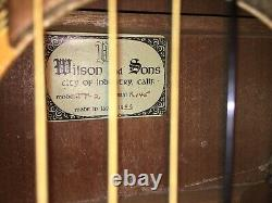 Vintage 1966 Wilson & Sons JT-2 Guitar Made In Japan Excellent Condition