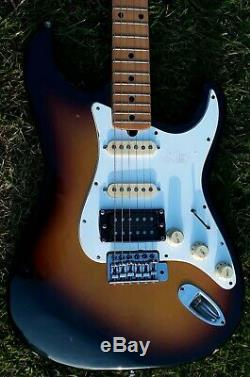 Vintage 1970's Jedson Strat Made In Japan With Maxom Pickups Plus Humbucker