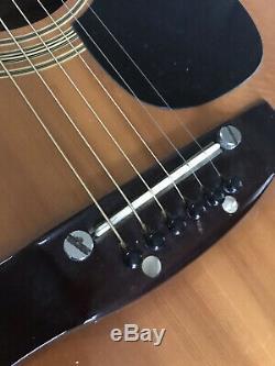 Vintage 1970s Kiso Suzuki 965 Acoustic Guitar Made in Japan