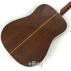 Vintage 1970s Morris W-18 Acoustic Guitar Made in Japan