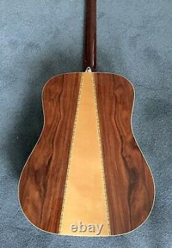 Vintage 1970s TAKEHARU WK-200 (KISO SUZUKI) Acoustic Guitar Made In Japan