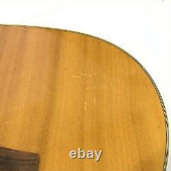 Vintage 1970s YAMAHA FG-200J Black Label Acoustic guitar Made in Japan TGJ