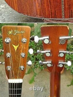 Vintage 1974 K. Yairi YW-130 Acoustic Guitar Made Japan MIJ Rosewood Martin D-28