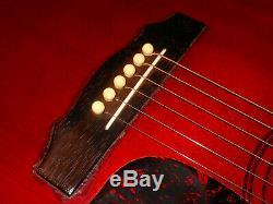 Vintage 1978 GUILD Guitar D-25C Acoustic, USA-Made Soft Case