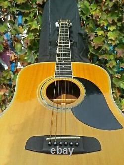 Vintage 1979 M. Suzuki W-300 Acoustic Guitar Made Japan MIJ Rosewood Martin D-28