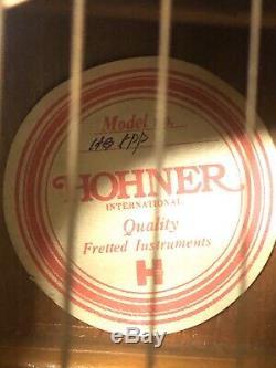 Vintage Acoustic Hohner guitar Model HG- Made In Japan