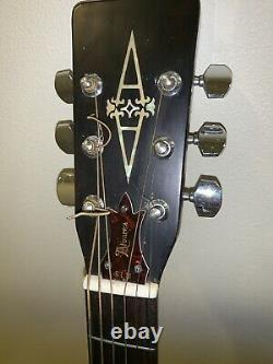 Vintage Alvarez 5023 Acoustic Guitar 1970s Made In Japan Excellent Condition