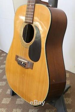 Vintage Alvarez Model 5021 12-String Acoustic Guitar MADE IN JAPAN
