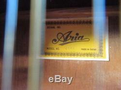 Vintage Aria 9604 12 String Acoustic Guitar 1970s Made in Japan MIJ