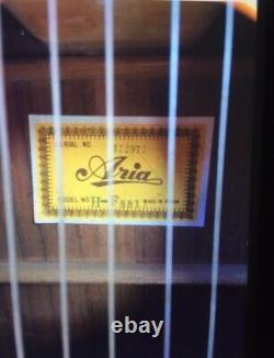 Vintage Aria Acoustic Guitar Made In Japan