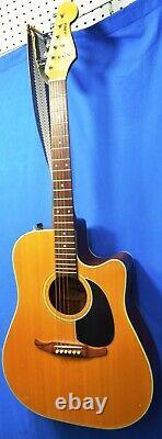 Vintage Fender La Brea Acoustic Guitar Made in Korea
