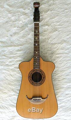 Vintage Guitar by Ludwig Lautersac. Hand made in Germany circa 1915