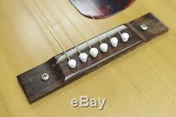Vintage Harmony Acoustic Guitar H-162 USA Made Mahogany Orig Silber Case Strap
