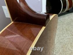 Vintage PRESTIGE Natural Finish 6-String Acoustic Guitar Made In Japan