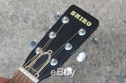 Vintage Shiro Arai KW180 Acoustic Guitar (Made in Japan, Aria)
