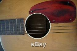 Vintage Stella Harmony 3/4 Parlor Acoustic Guitar-Made in U. S. A