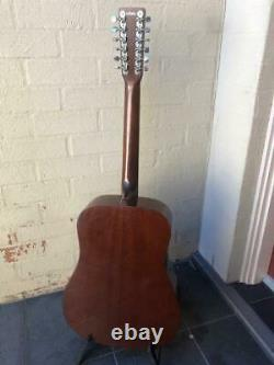 Vintage Takamine F-385 12 String Acoustic Guitar 1978 Made in Japan