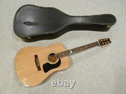 Vintage Washburn D-18S Limited Edition Acoustic Guitar withCase Made in Japan MIJ