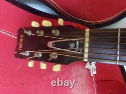 Vintage YAMAHA FG-110 Acoustic Guitar withcase, mid-70's Made in Japan