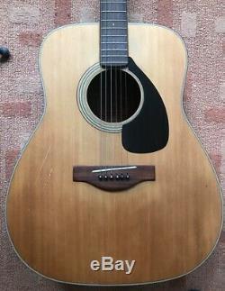 Vintage Yamaha FG180 Acoustic guitar Made in Japan Red Label Nippon Gakki