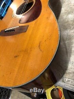 Vintage Yamaha FG 160 Gold Label Guitar Made in Japan