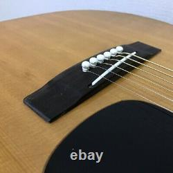 YAMAHA FG-200 Black Label Acoustic Guitar 1975 Made in Japan with hard case
