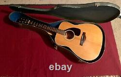 Yamaha FG-180 Nippon Gakki Red Label Acoustic Guitar 1960's/1970s made in Japan