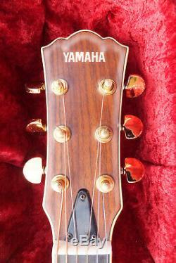 Yamaha LS-500 Acoustic Guitar & Original Case Made in Japan
